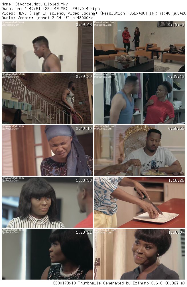 (Movie) Divorce Not Allowed – Nollywood 1