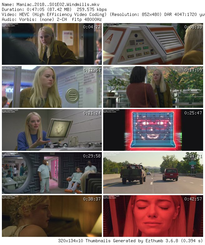 COMPLETE: Maniac Season 1 Episode 1 - 10