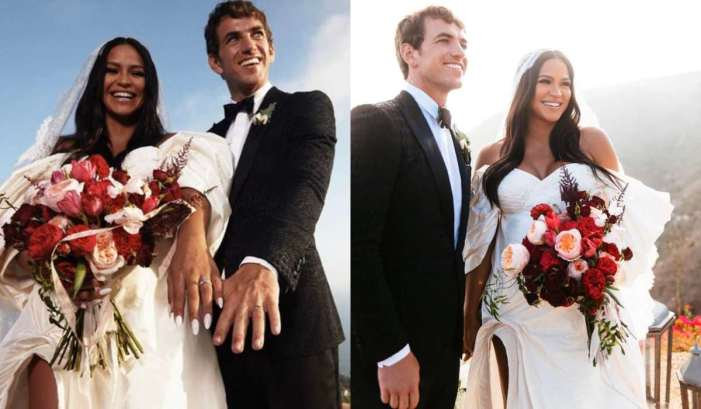 Cassie Ventura and Alex Fine black-tie backyard wedding in Malibu (Photos) 1