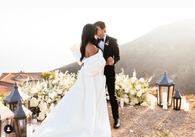 Cassie Ventura and Alex Fine black-tie backyard wedding in Malibu (Photos) 23