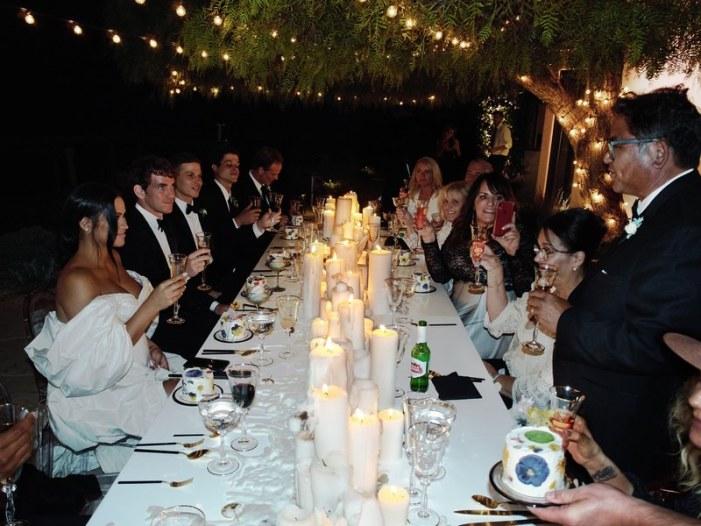 Cassie Ventura and Alex Fine black-tie backyard wedding in Malibu (Photos) 7