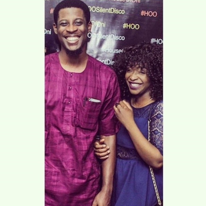 BBNaija Seyi girlfriend, Adeshola, see loved up photos 5