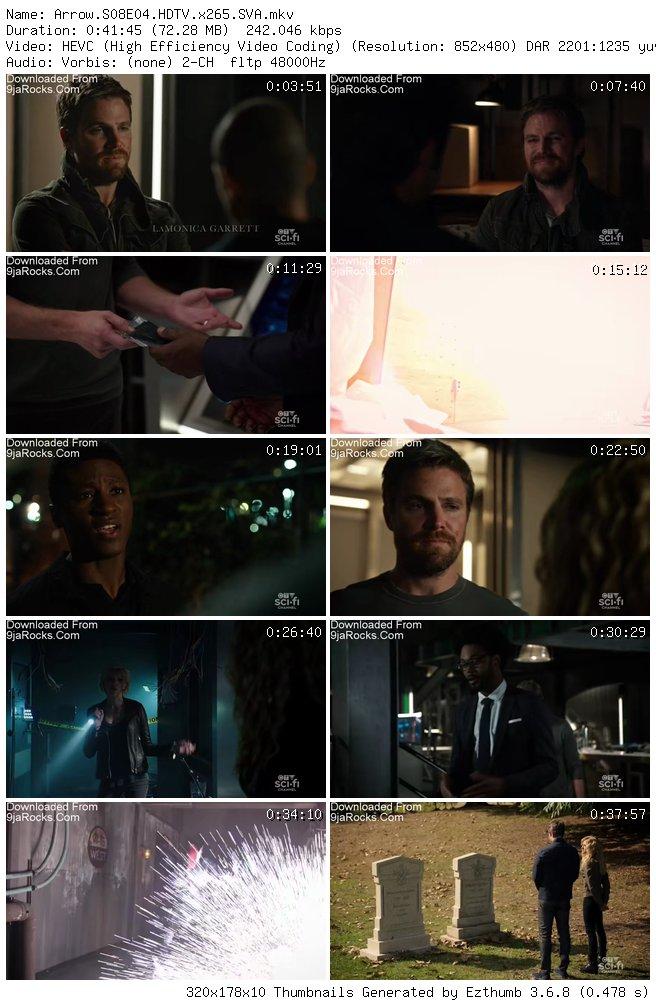 Arrow Season 8 Episode 4 – Present Tense [S08E04]