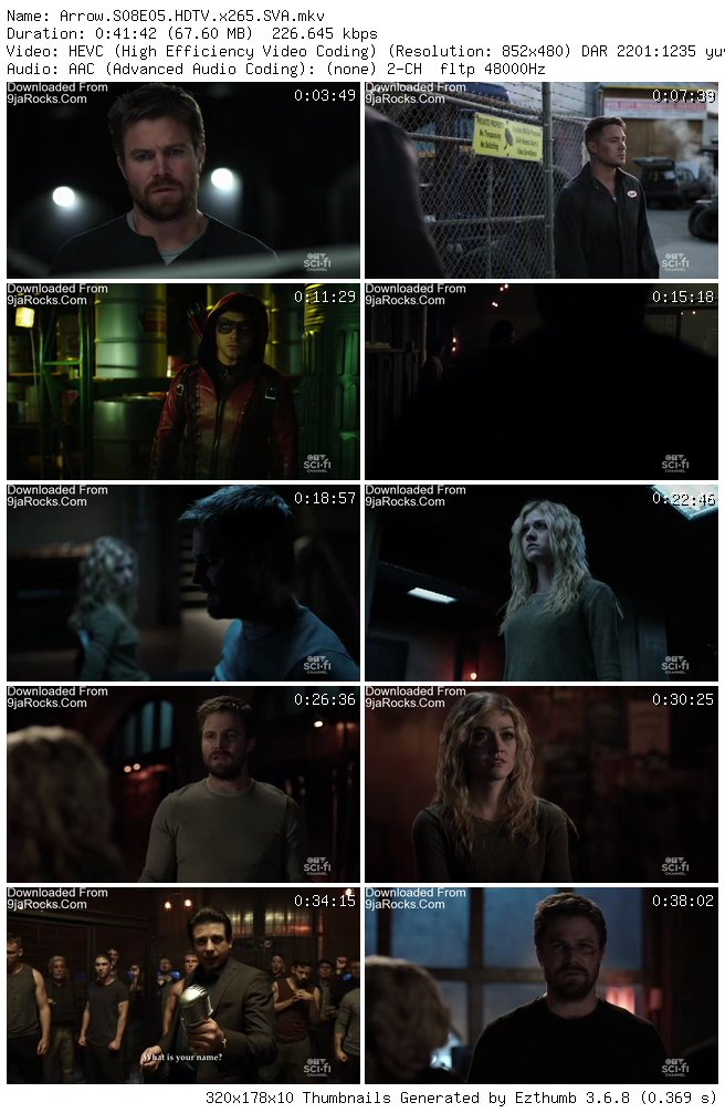 Arrow Season 8 Episode 5 - Prochnost [S08E05]