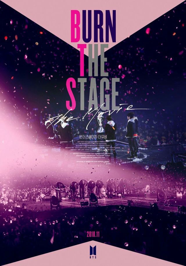 Burn The Stage. The movie (2018) - Korean
