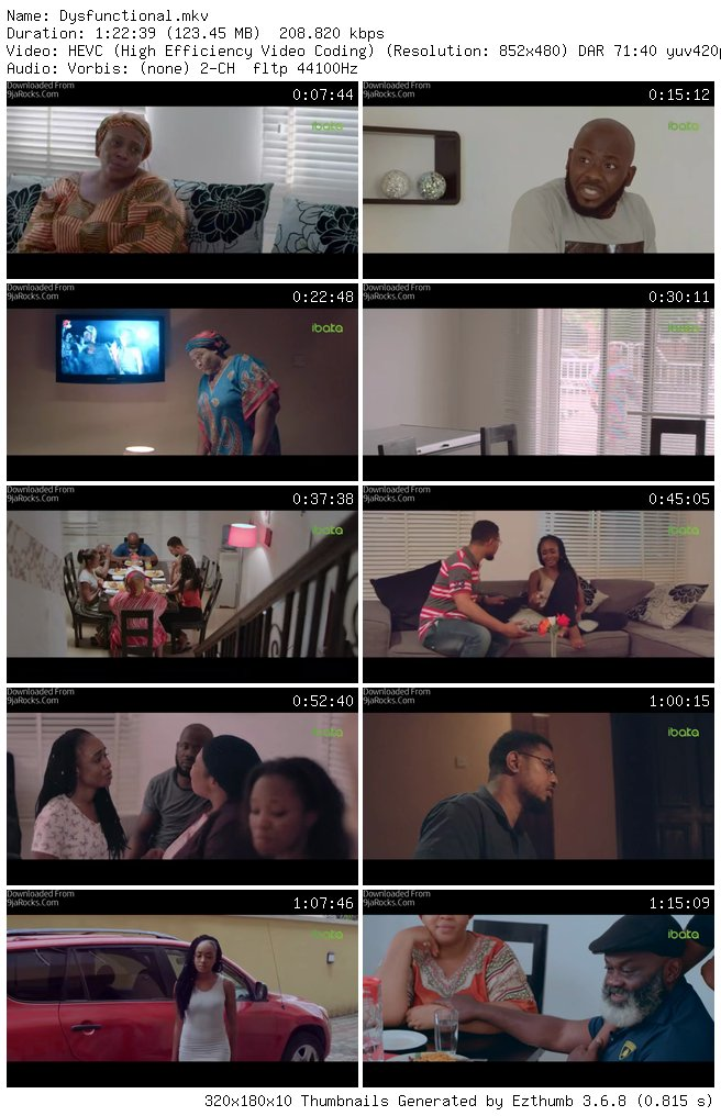 Dysfunctional - Nollywood Movie