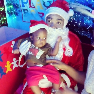 Santa at Silverbird galleria was quite nice