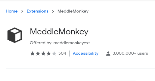 middle monkey extension