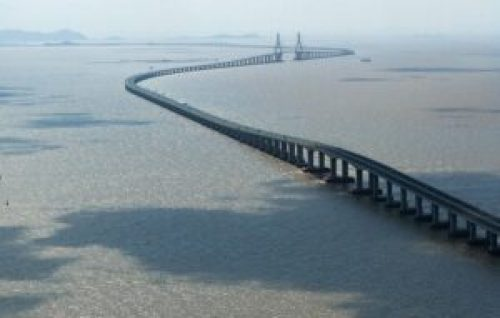 Donghai Bridge - one of the largest bridges in the world