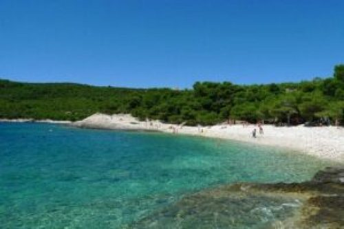 Srebrna Beach, Croatian