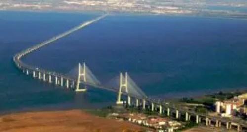 Vasco da Gama Bridge - One of the longest bridges in the world