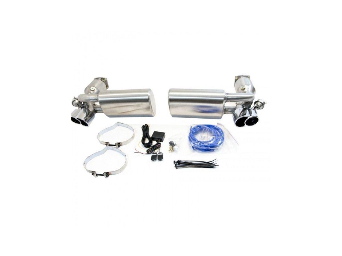 996 turbo gt2 porsche flap exhaust valve system with sportkats