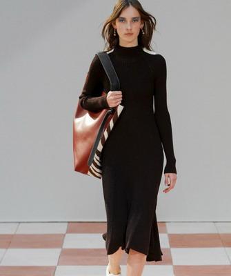 ed420497860 Комбинация под вязаное платье. С чем носить вязаное платье  мини ...