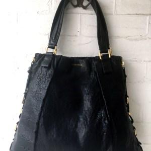 boss orange leather purse