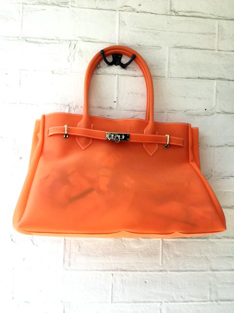 Birkin Bag lookalike orange