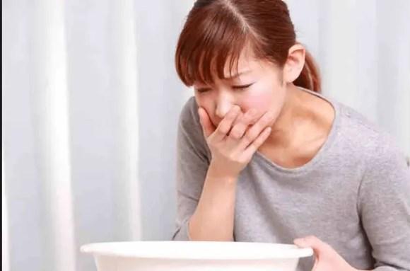 التقيؤ الحاد أثناء الحمل