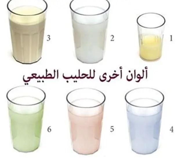 ما هو لون الحليب الذي يخرج من الثديين في فترة الحمل؟