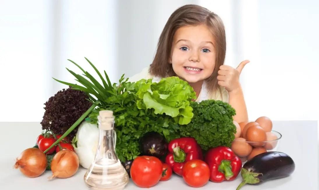 الأكل الصحي للأطفال