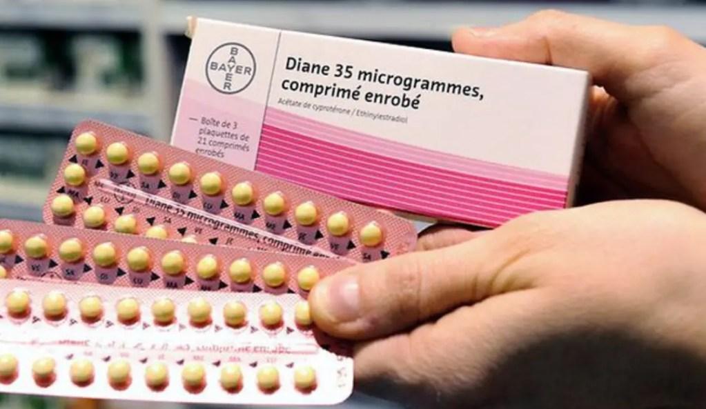 حبوب منع الحمل ديان 35