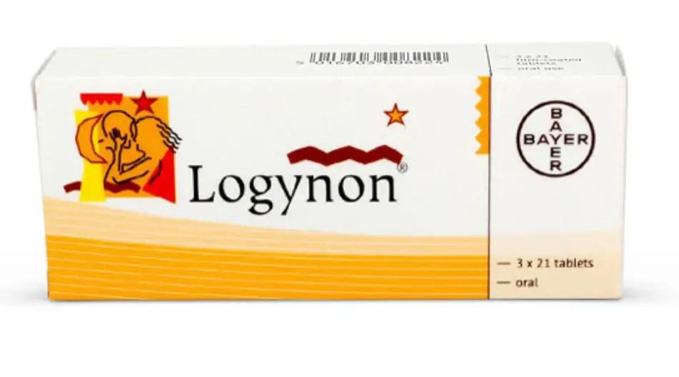 حبوب منع الحمل لوجينون