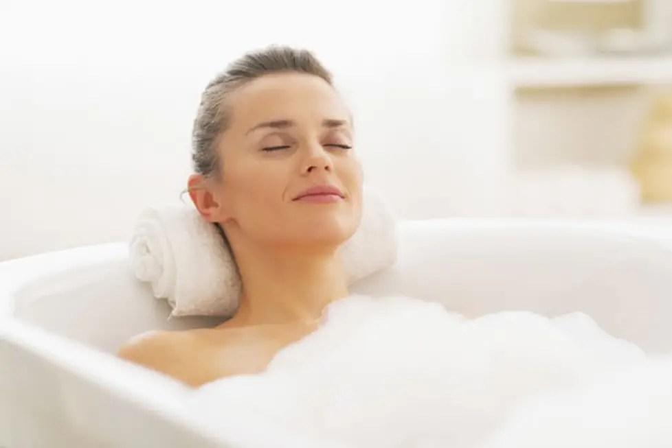 الحمل وأحواض الاستحمام الساخنة (6)