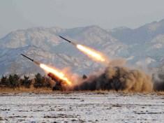 North Korea fires 2 ballistic missiles into sea near Japan