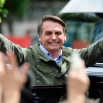 Jair Bolsonaro has been elected the next president of Brazil, winning 55 percent of the vote, photo internet recreation.