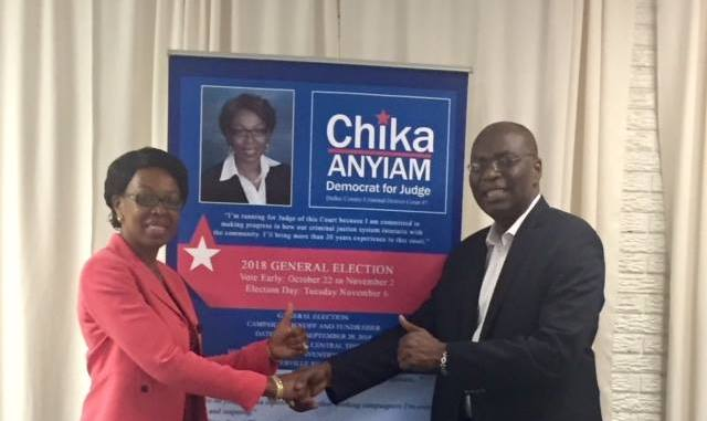 Nigerian-Born Chika Anyiam becomes the first African Immigrant to win State District Court Judge in USA