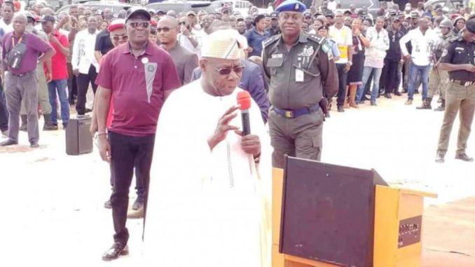 Image result for I won't campaign for Atiku, others – Obasanjo
