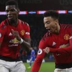 Paul Pogba Celebrate Europa League under Jose Mourinho
