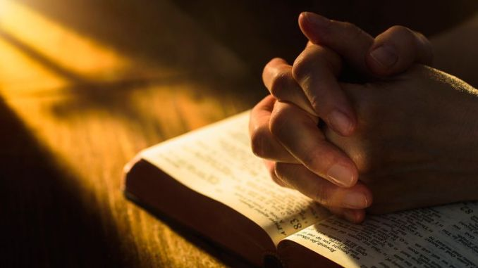 Praying according to the word of God