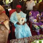 Patience Jonathan Governor Dave Umahi and others at burial of Late Mama Okorie