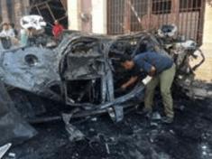 3 UN staff killed in a car bomb explosion in Benghazi Libya