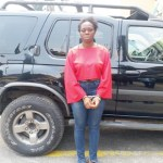 Police Nabs Salesgirl Who Stole Jeep, phone,Watch, other 1 Million Naira Valuables After Sexcapade