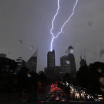 Australia: 25,000 Sydney homes without power since yesterday after wild storm