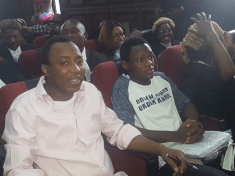 Sowore and Bakare in Court