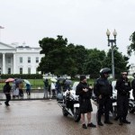 White house locked down, offices closed