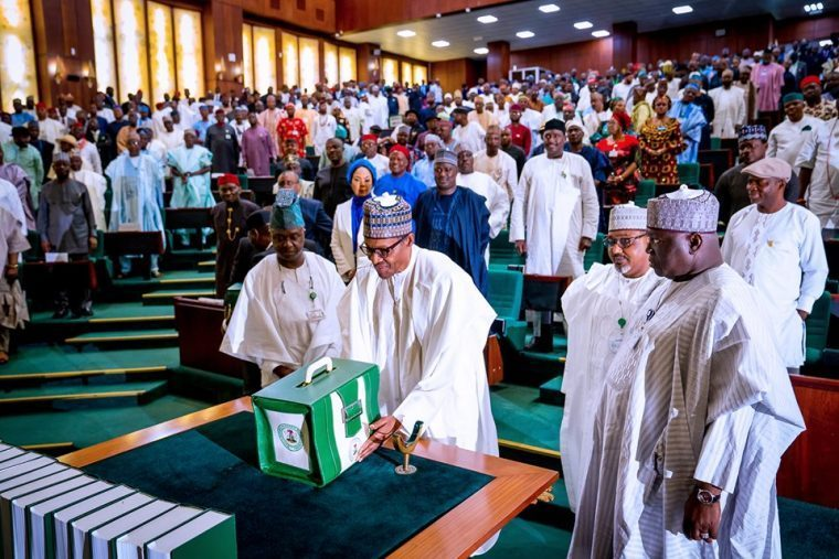 2020 Budget-President Buhari presents Appropriation Bill to the senate