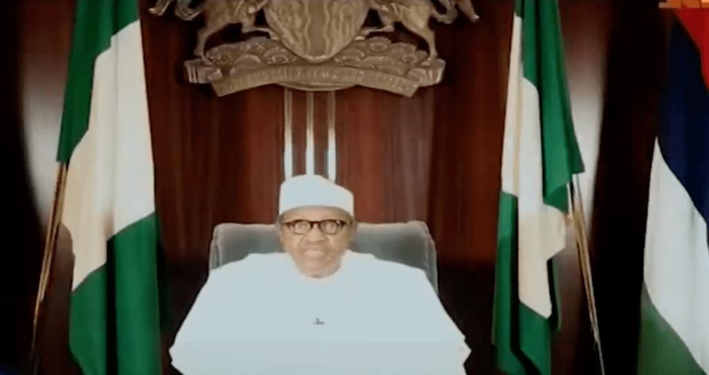 Nigerian President and Commander in Chief, Muhammadu Buhari