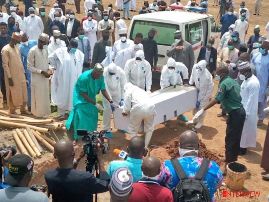 Abba Kyaris Official Burial in Abuja