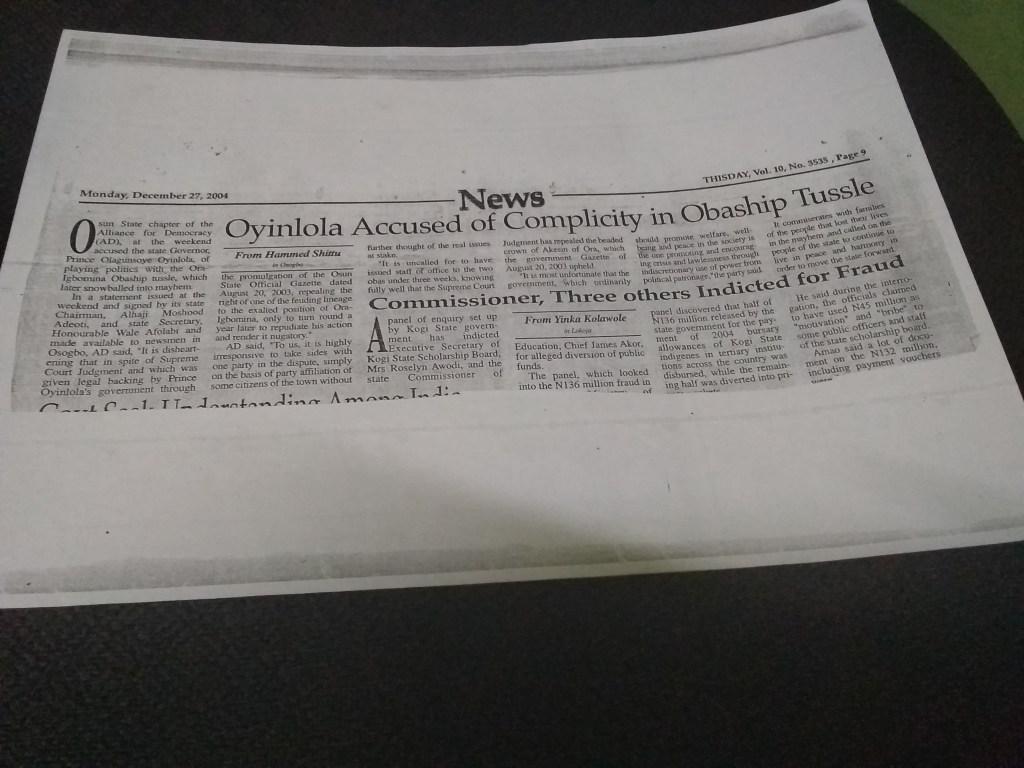 Attachment 5-News story ora
