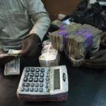 Bureau de change - dollar black market