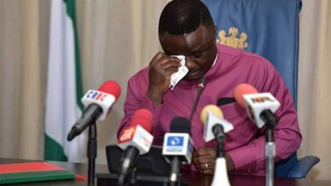 Governor Ben Ayade's Crocodile Tears