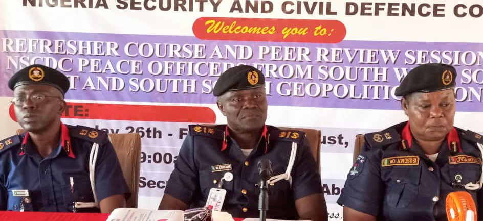 Nigerian Security and Civil Defence Corps - Conference
