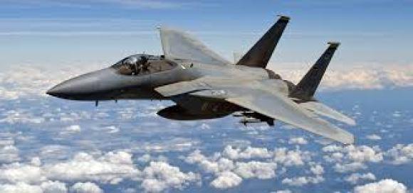 USA fighter plane crashes off coast of northeast England