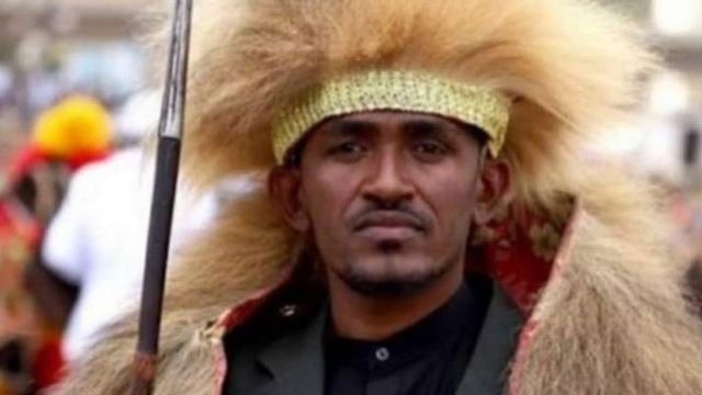 Ethiopian political singer - Hachalu Hundessa