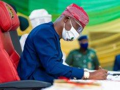 Governor Babajide Sanwo-Olu of Lagos state