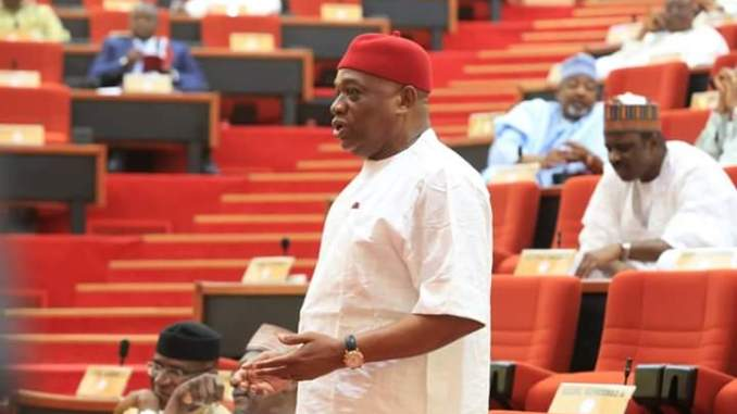 Orji Uzor Kalu in the senate