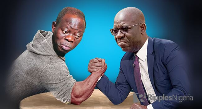 Oshiomhole and Obaseki Power Tussle