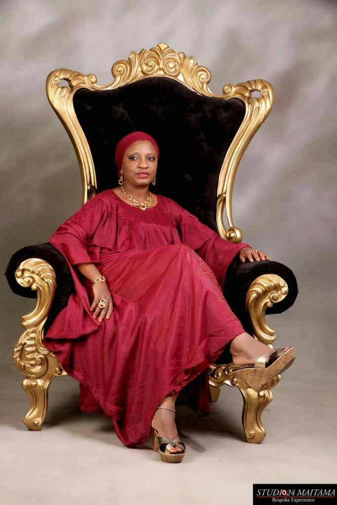 Comr. Lukman Celebrates Epitome Of High Intellectual Hajia Sa'aadatu Modibbo Kawu On Her Birthday Anniversary.